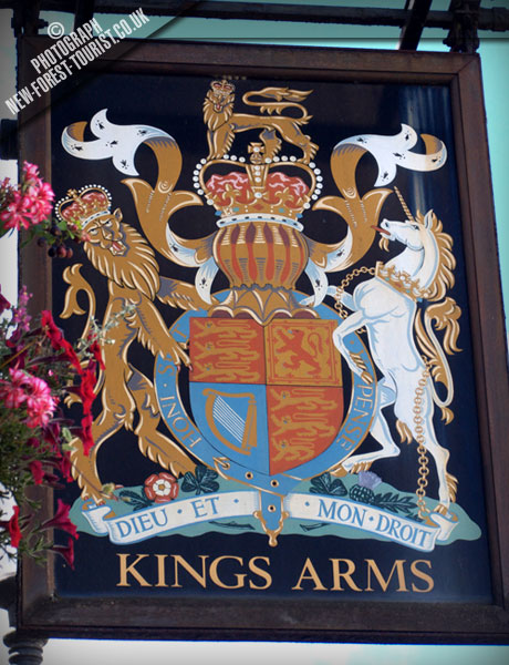 The New Forest pub: The Kings Arms