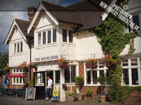 The New Forest National Park pub: Mayflower Hotel