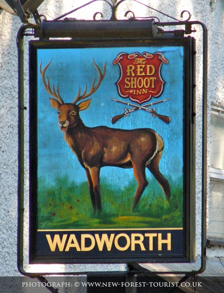 The New Forest pub: The Red Shoot Inn