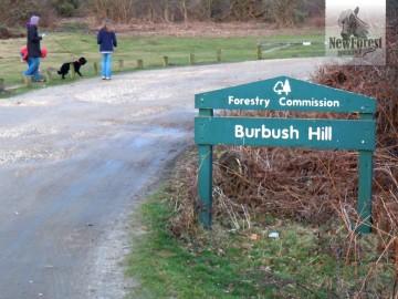 Burbush Car Park next to Slap Bottom