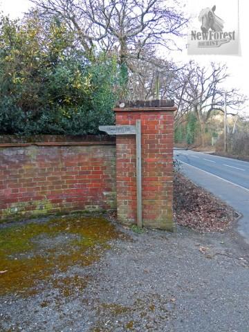 Burley Hill House Footpath