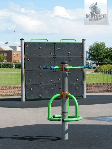 Climbing Wall and Roundabout