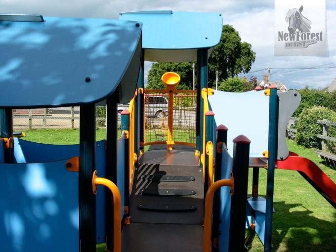 Boldre Playground Climbing Frame