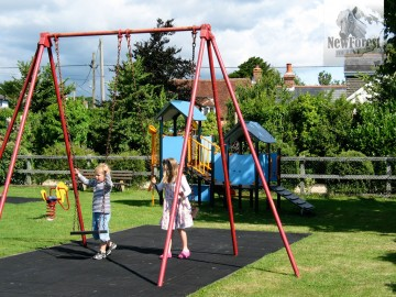 Swings, Climbing Frame & Spring Ride