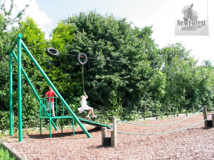 East Boldre Playground Zip Line