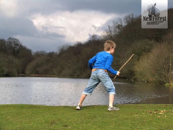 Fighting a hidden enemy at Eyeworth Pond