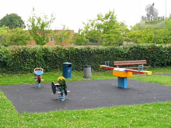 Seesaw, Spring Rides and Bins