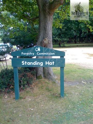Standing Hat Car Park