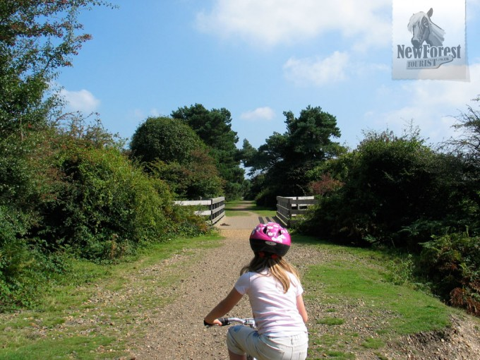 Riding along the 1847 railway track