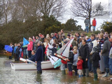 Setley Pond Boxing Day Yacht Race