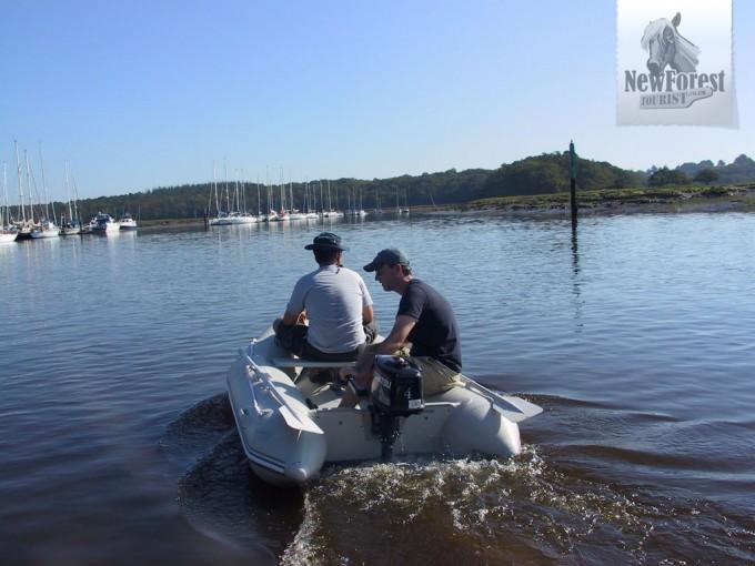 Boating at Buckler's Hard