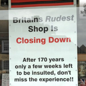 Britain's Rudest Shop
