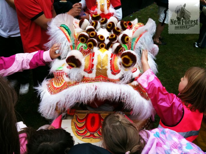 Chinese Dragon at the Milford Music Festival