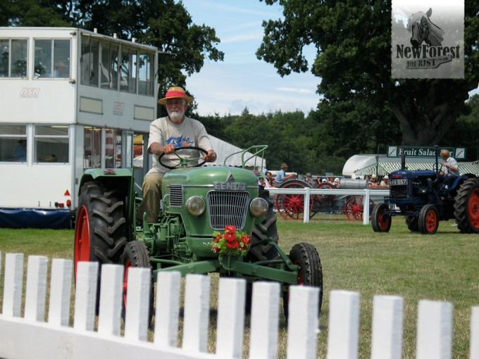 The indispensable vintage tractor display