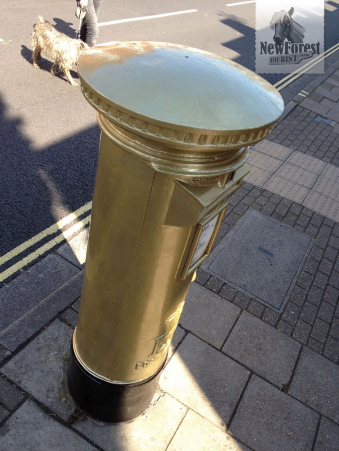 Royal Mail's version of the Gold Letterbox