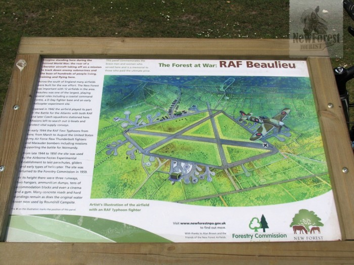 Beaulieu Airfield Information Panel
