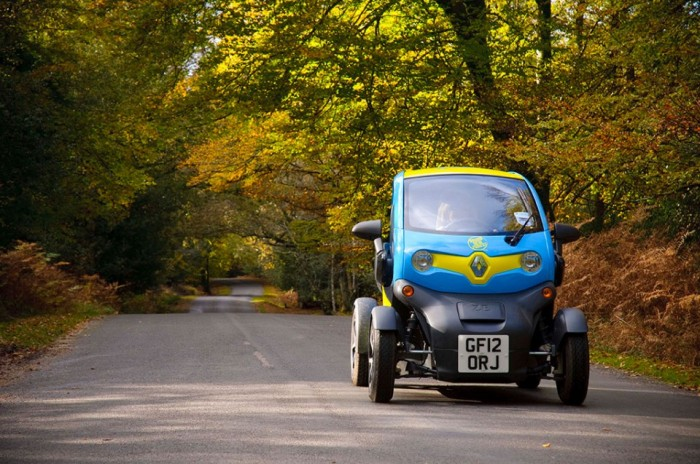 Electric Car, New Forest