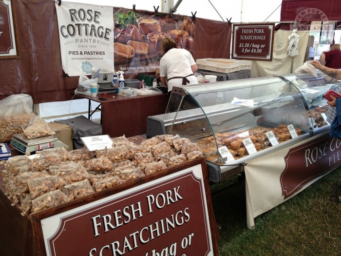 Our second lunch - more pork pies from Rose Cottage.