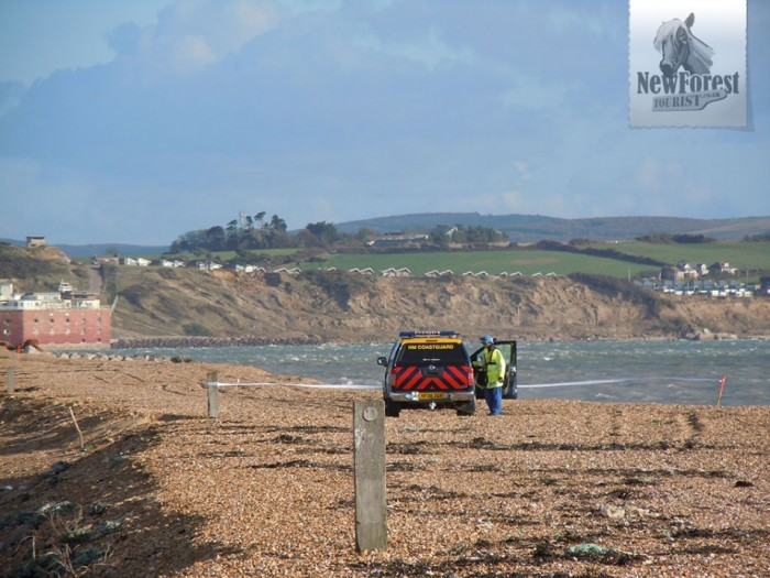 Unexploded Shells Hurst Castle