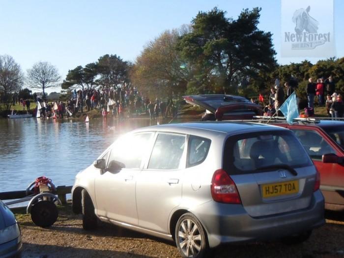 A full car park