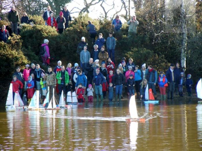 Setley Pond Boat Race