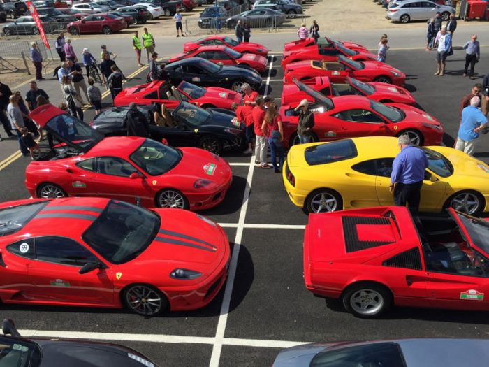 Ferraris in Lymington