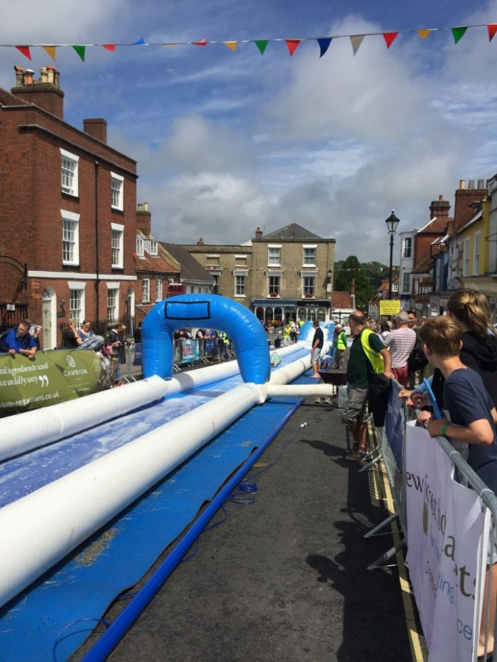 Lymington Waterslide