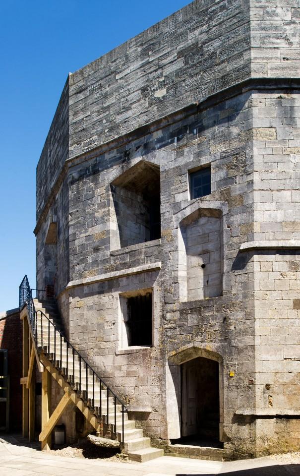 Hurst Castle Tudor keep